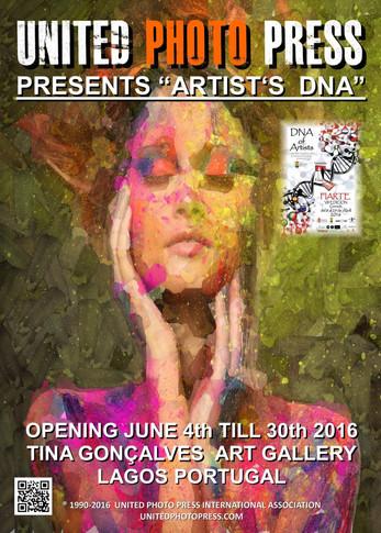 """UNITED PHOTO PRESS PRESENTS """"ARTIST'S DNA"""" 2016"""
