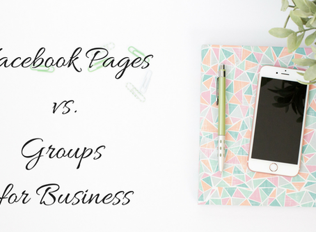 Facebook Page vs. Groups for Business?