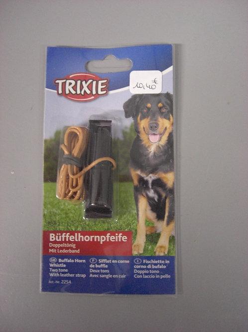 Sifflet en corne de Buffle