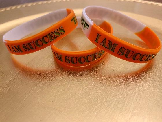 I Am Success Orange and Green