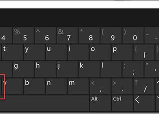 May 2017 Tips - Keyboard Shortcuts