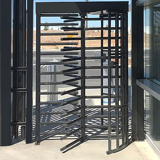 High-Security Turnstiles