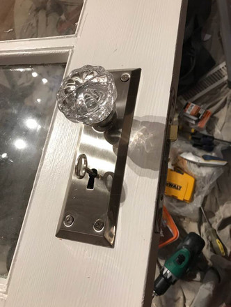 The new mortise lock