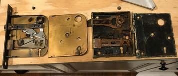 Rebuilding mortise locks