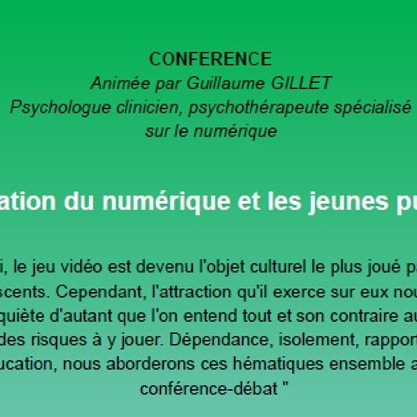 Conférence: L'utilisation du numérique et les jeunes publics