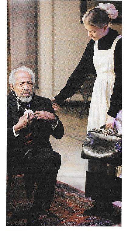 Arthur French as Dr. Sloper in The Heiress - with Tess Frazer.jpg
