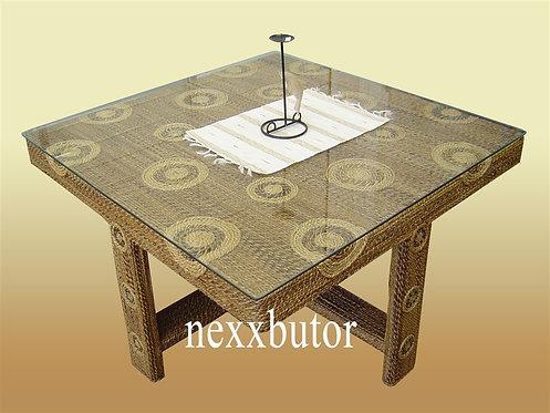 Banánlevél asztal    BCC-4001T    rattan asztal   asztal nexxbutor