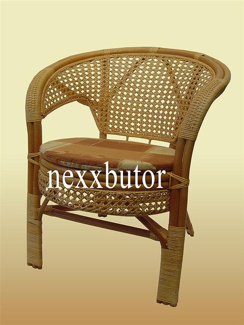 Rattan szék   J-1013WXN-1A   rattan fotel párnával   rattan bútor