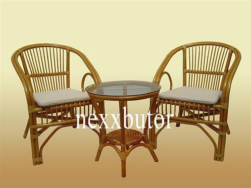 Rattan szék + asztal | J-1004+J2008 teázó | rattan bútor