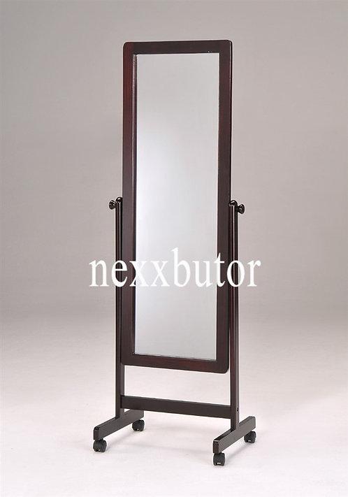 Fa állótükör | 4101 MH |  fa görgős álló tükör | tükrök