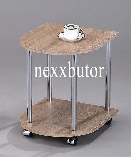 Görgős kisasztal  | GT-182WX | tölgy asztal  | asztal nexxbutor