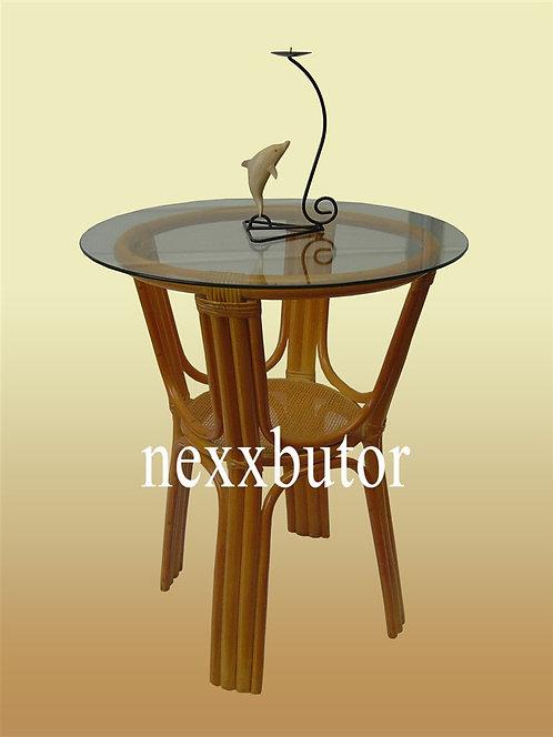 Rattan étkező asztal |  PM-402TGWX |  rattan asztal