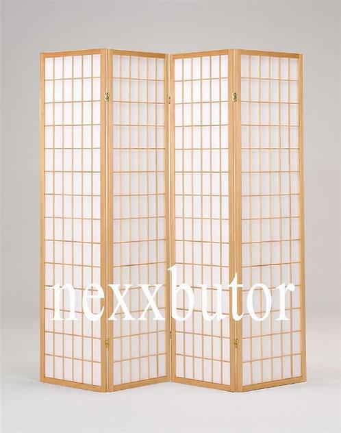 Paraván | 4621-4WX | 4 paneles paraván |  natúr paraván nexxbutor