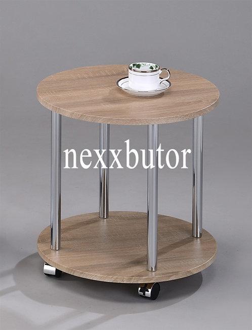 Görgős asztal | GT-184WX |  tölgy asztal | asztal nexxbutor