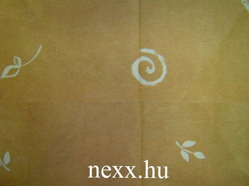 Szövet N-1A világos barna csigás szín
