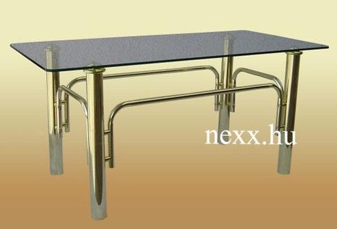 Fém dohányzóasztal |  6010G arany asztal