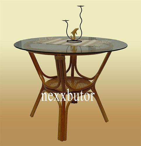 Rattan étkező asztal   PM-401TGWX   rattan asztal