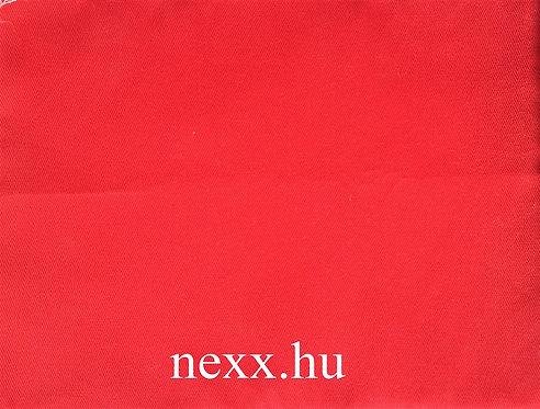 Szövet N-6 piros szín