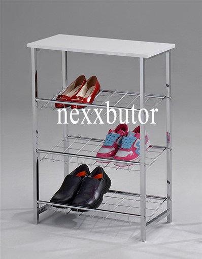 Cipőtartó polc | F-993W |  fehér cipőtartó | cipőtartó nexxbutor