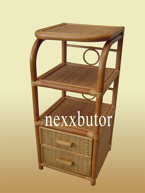 Rattan komód | TE-1235WX |  rattan polc | rattan bútor