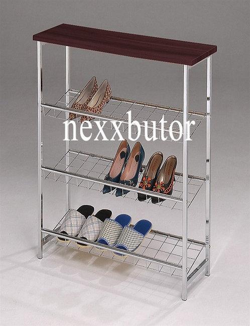Cipőtartó polc   F-993WB   barna cipőtartó   cipőtartó nexxbutor