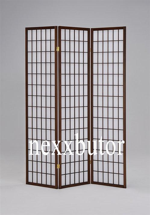 Paraván | 4621WB | 3 paneles paraván  |  barna paraván nexxbutor