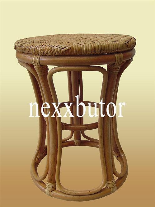 Rattan puff | DR-219LWX | rattan szék | nád ülőke bútor