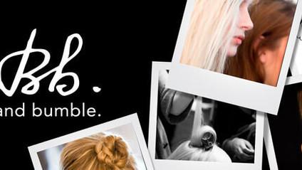 Helene fra Bumble & Bumble kommer å gir deg produktveiledning