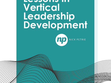 Lessons in Vertical Leadership Development