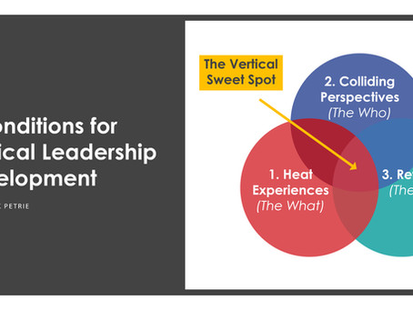 3 Conditions for Vertical Development