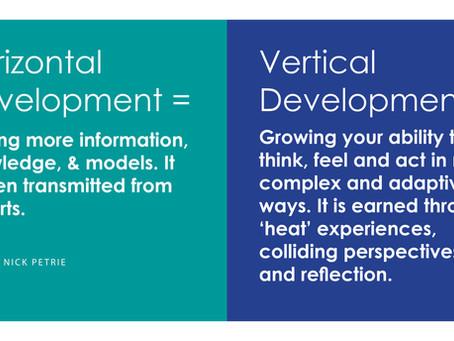 How Vertical Development Happens