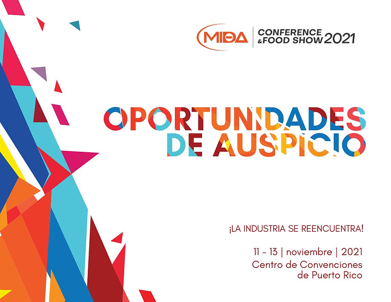 MIDA Conference & Food Show Oportunidade