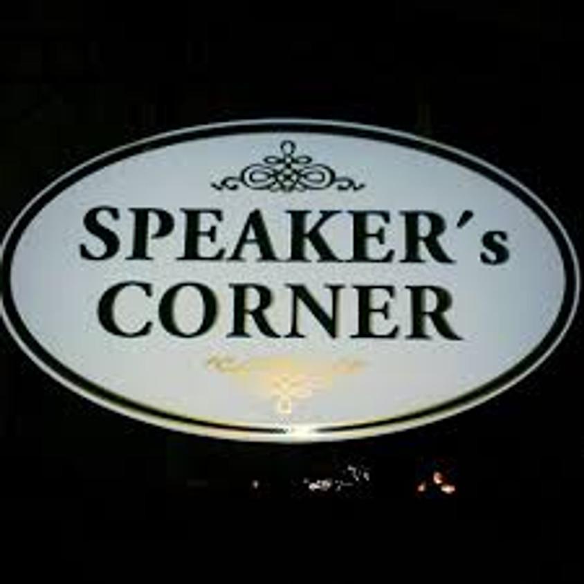 QUIZ 3 - Speaker's Corner