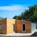 Bungalow with Larch Cladding