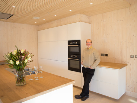 Larch Corner - The UK's Most Airtight Passiv Haus