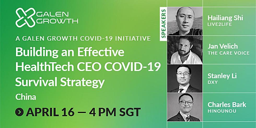 China HealthTech Startups Series Covid-19