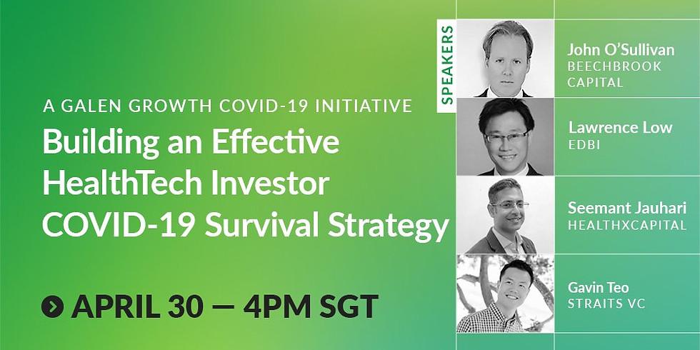 Building an Effective HealthTech Covid-19 Survival Strategies