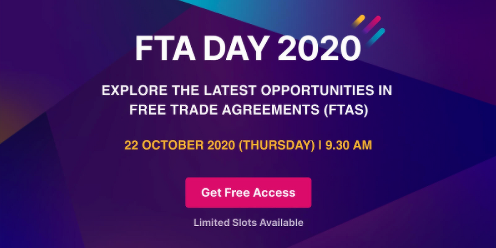 FTA Day 2020 Explore the Latest Opportunities to Keep Ahead