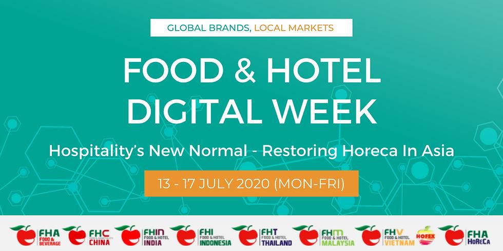 Food & Hotel Digital Week