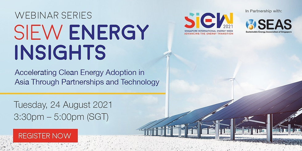 SIEW: Accelerating Clean Energy Adoption in Asia Through Partnerships and Technology