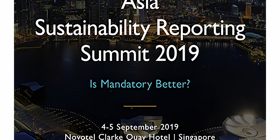 3rd Asia Sustainability Reporting Summit