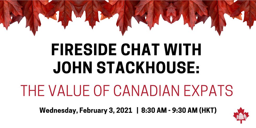 Fireside Chat with John Stackhouse: The Value of Canadian Expats