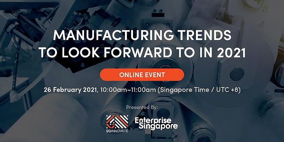 Manufacturing Trends To Look Forward to in 2021