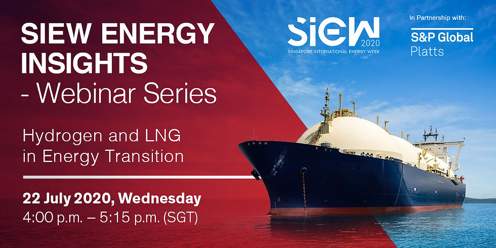 SIEW - Hydrogen and LNG in Energy Transition