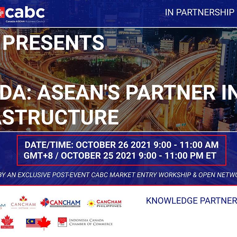 Canada: ASEAN's Partner in Infrastructure Event