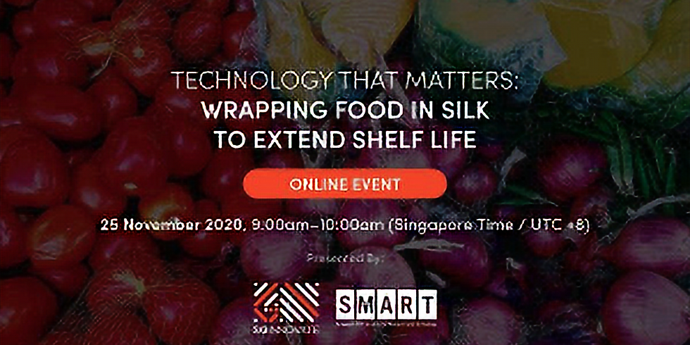 Technology That Matters: Wrapping Food in Silk To Extend Shelf Life