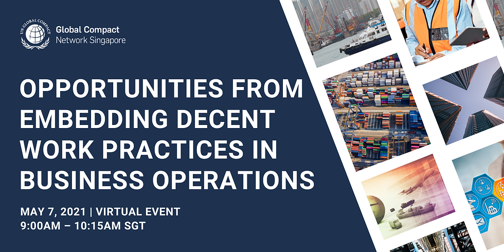 Opportunities From Embedding Decent Work Practices In Business Operations