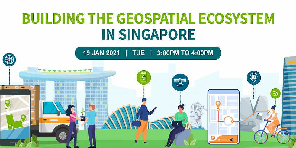 Building the Geospatial Ecosystem in Singapore
