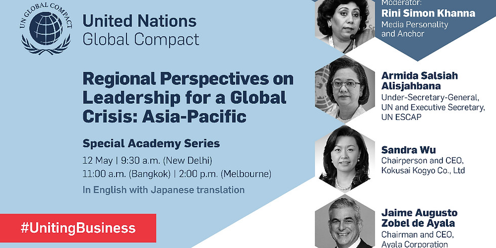 Regional Perspectives on Leadership for A Global Crisis: Asia Pacific