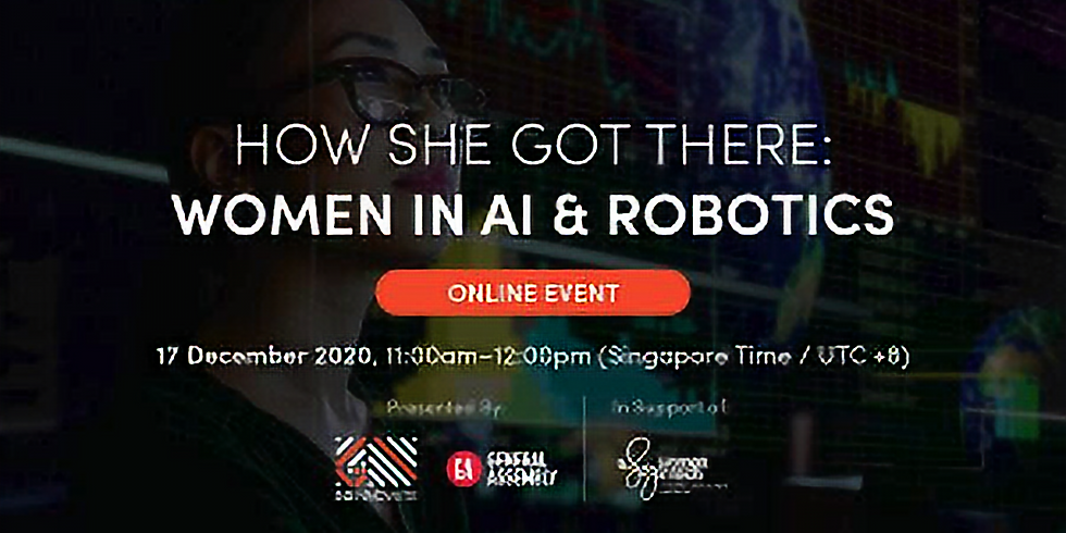 How She Got There: Women in AI and Robotics